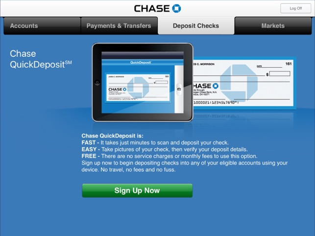 Chase mobile on the app store ipad screenshots malvernweather Gallery