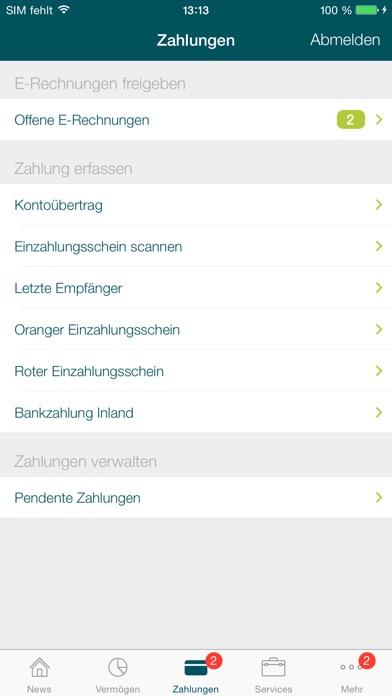 Spar- und Leihkasse BucheggbergScreenshot von 3