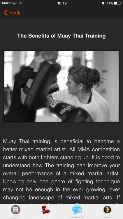Muay Thai Training Techniques screenshot-4