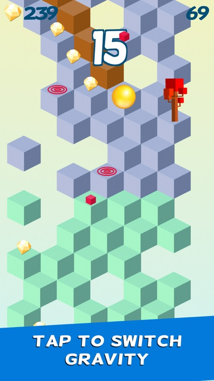 Cube Skip Ball Games screenshot-0