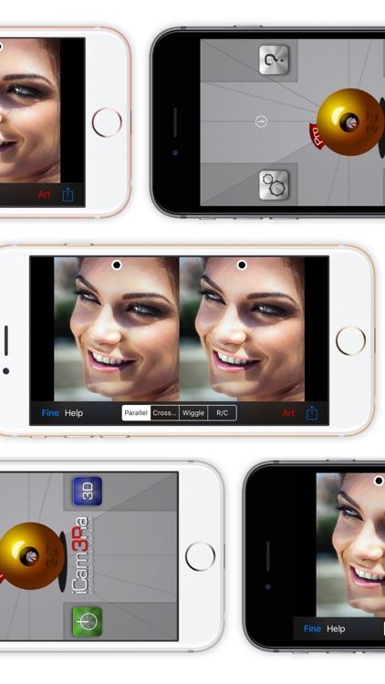 iCam3Ra Lite - 3D Camera Photo Video Maker screenshot-3