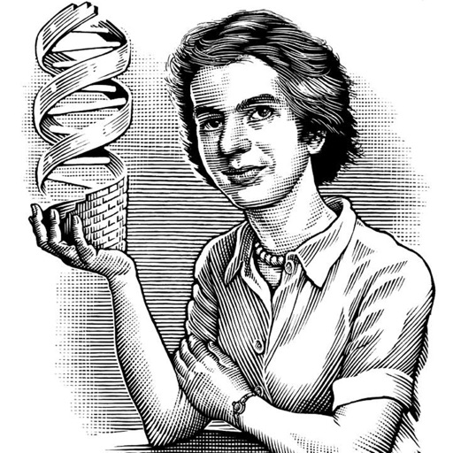 Biography and Quotes for Rosalind Franklin icon