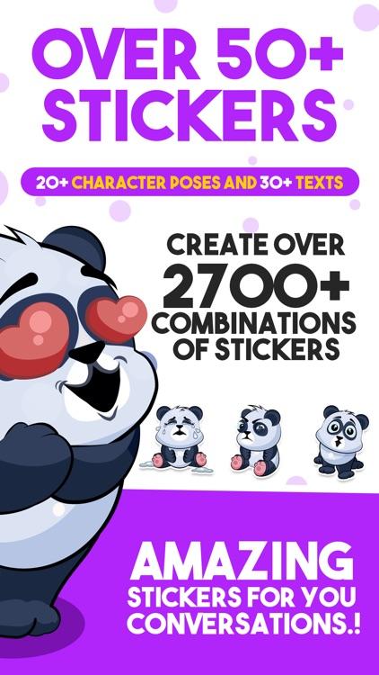 Panda - Sticker Pack