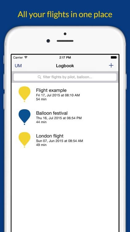 Ultramagic FlightPack for Hot Air Balloons screenshot-4