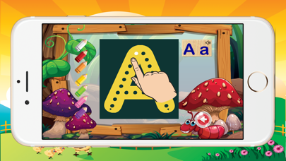 ABCD Alphabet Phonic Tracing Flashcards Toddlers screenshot two