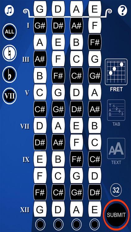Mandolin Notes Flash Cards screenshot-4