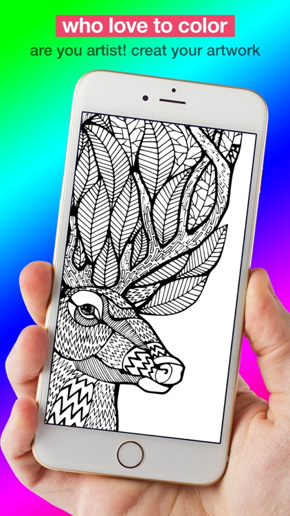 Coloring Page Maker - Color your own Adults  Pages