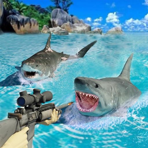Shark Hunting Scuba Deep Diving -Shoot Hungry Fish iOS App