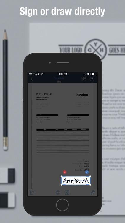 Scan Master - PDF Scanner to Scan Receipts & Cards screenshot-4