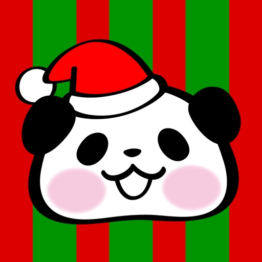 Pandaaa!!! Xmas Stickers for iMessage