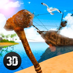 Pirate Island Survival Simulator 3D Full