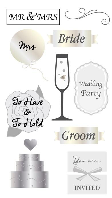 Wedding Day Sticker Pack