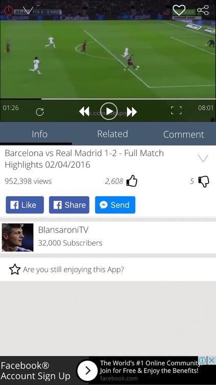 Football TV - Latest Highlights and Goal 2016 2017