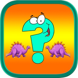 Cute dinosaurs remembering (IQ) matching games for kids