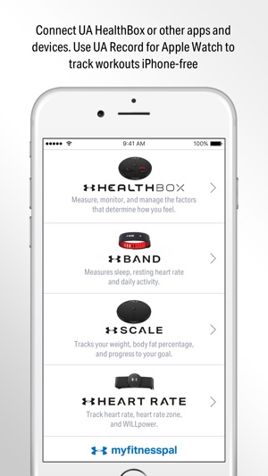 Record By Under Armour On The App Store