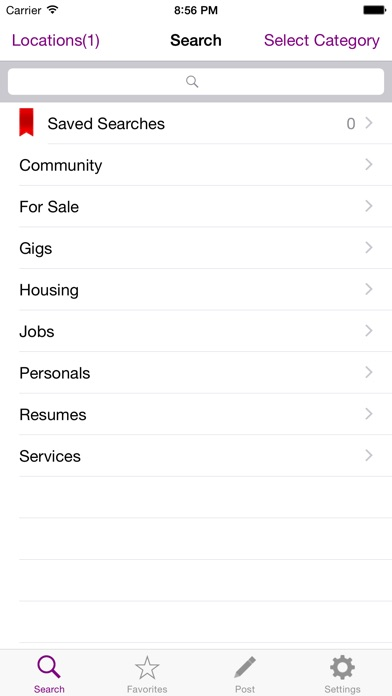 Screenshot for SMobile Pro for Craigslist in Taiwan App Store