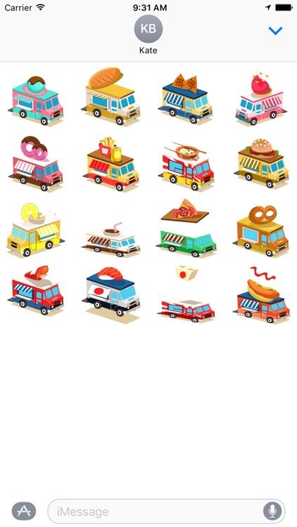 Food Truck Stickers