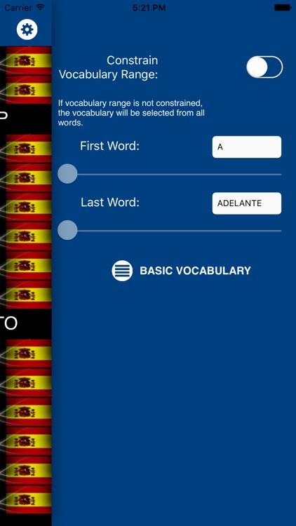 Alumno: Spanish Vocabulary Flashcards screenshot-4