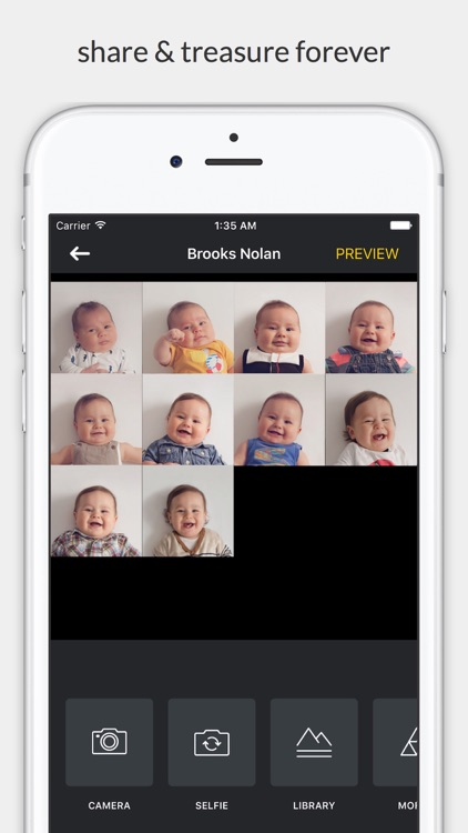 Facelapse - face changes over time in slideshow screenshot-4