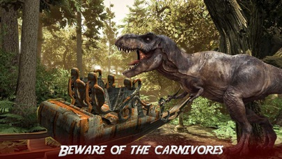 real dinosaur roller coaster vr jurassic tour app price drops