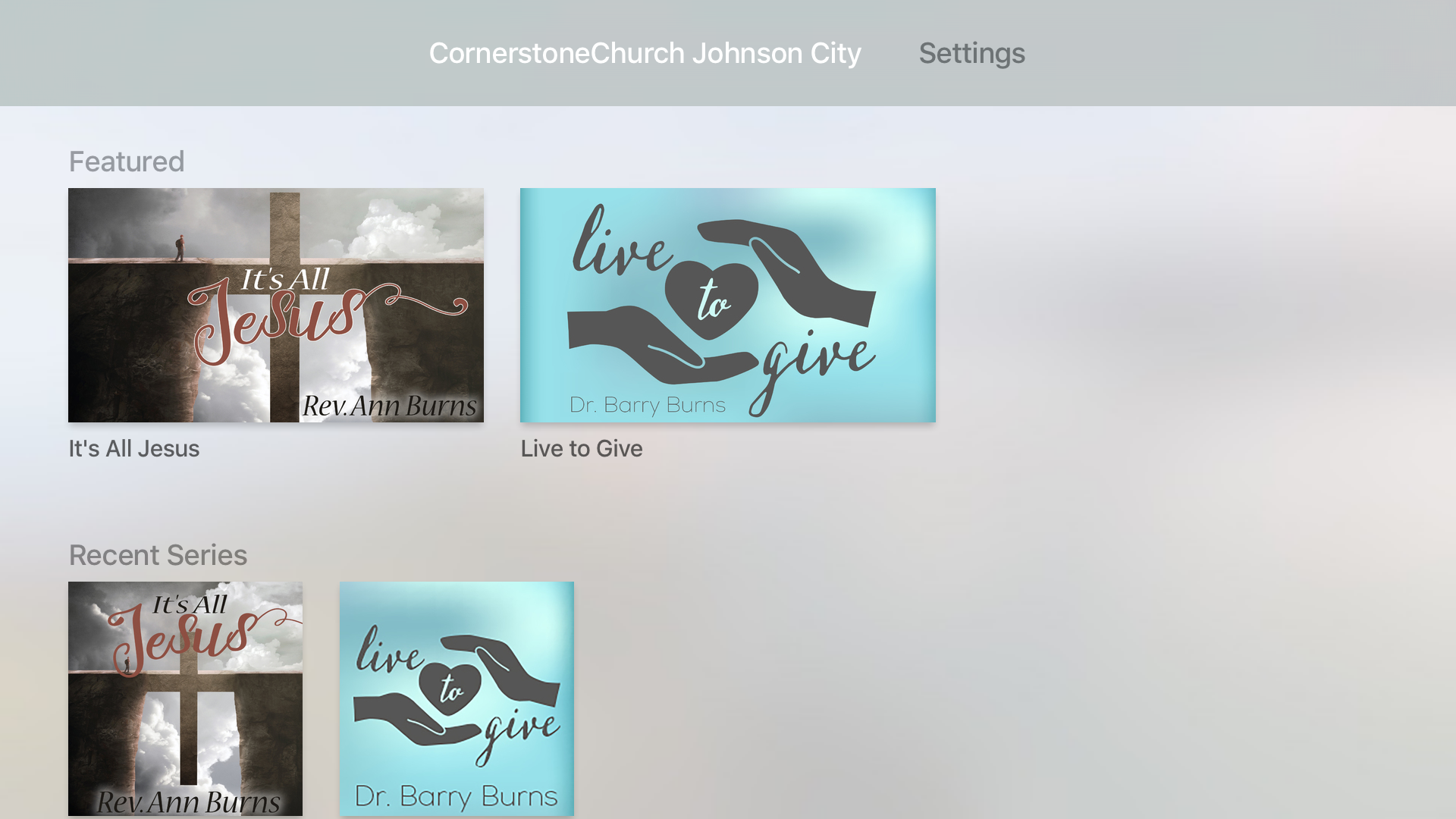 CornerstoneChurch Johnson City screenshot 7