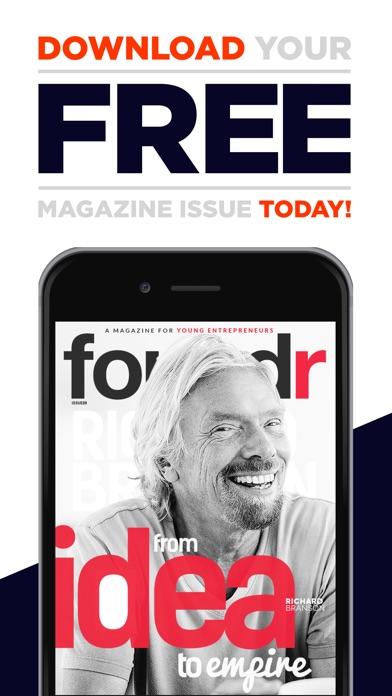 AAA+ Foundr - スタートアップのための起業家誌スクリーンショット1