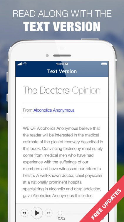 AA Big Book Audio from Alcoholics Anonymous Sober screenshot-4