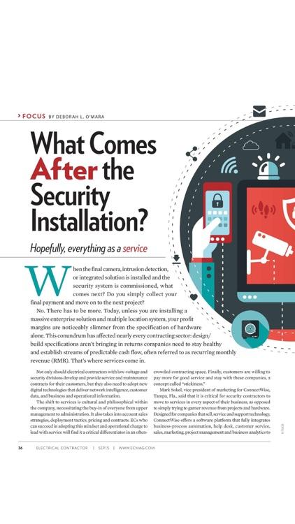 ELECTRICAL CONTRACTOR Magazine screenshot-4