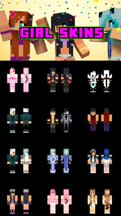Girl Skins for Minecraft PE (Pocket Edition Skins)