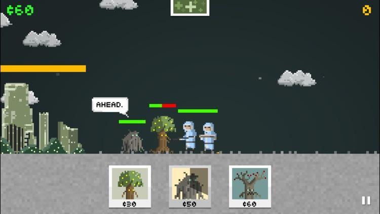 Pixel Warrior: castle defence and roguelike hybrid screenshot-3
