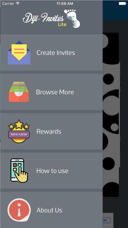 Diji Invites Lite screenshot-0