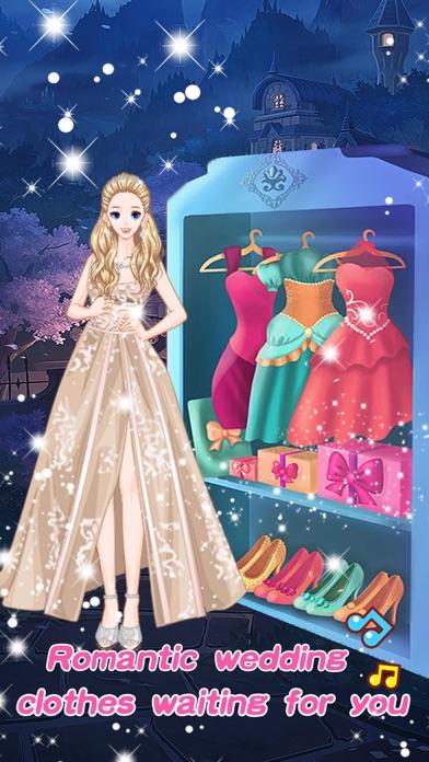 Princess fashion wedding - Girls Make up games screenshot three