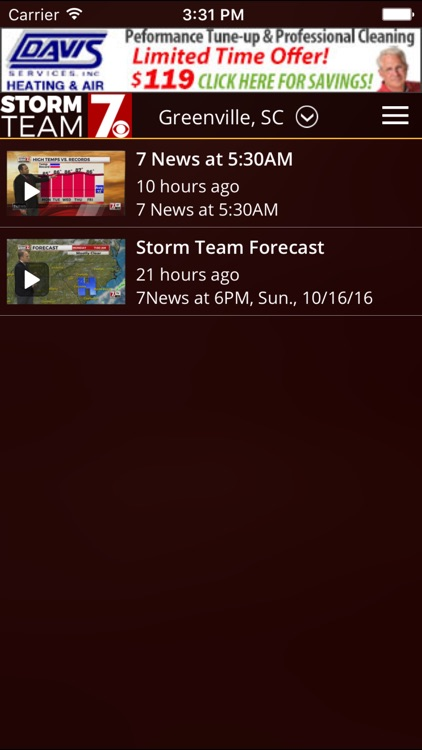 WSPA Weather - Radar and forecasts screenshot-4