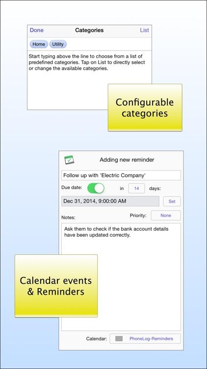 PhoneLog for iPhone & iPad screenshot-4