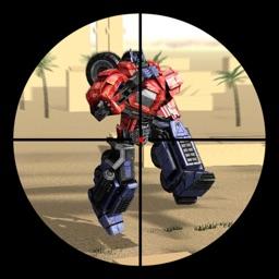 Futuristic Robots and Sniper