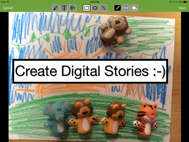 ‎30hands Starter: Create & Show What You Know Screenshot