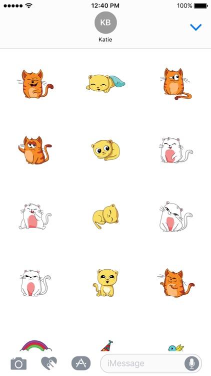 Purrfect Cat Stickers screenshot-3