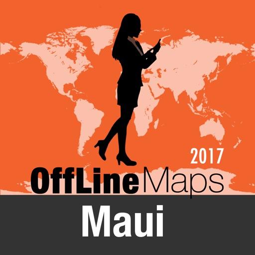 Maui Offline Map and Travel Trip Guide