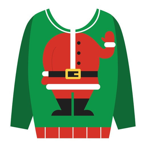Ugly Christmas Sweaters Sticker Pack