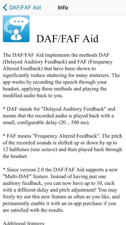 DAF/FAF Aid screenshot-3