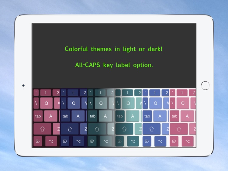 PadKeys Keyboard for iPad screenshot-3