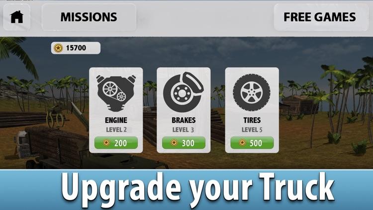 Jungle Logging Truck Simulator 3D screenshot-3