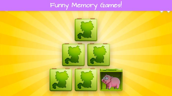 Toddler's Farm Animals Puzzle Screenshot