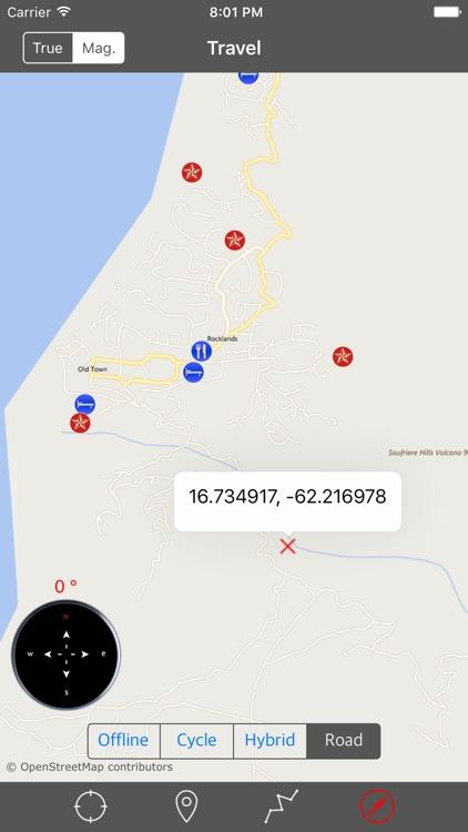 MONTSERRAT – GPS Travel Map Offline Navigator screenshot-4