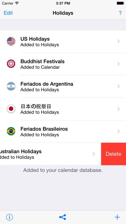 Holidays 2017 edition screenshot-4