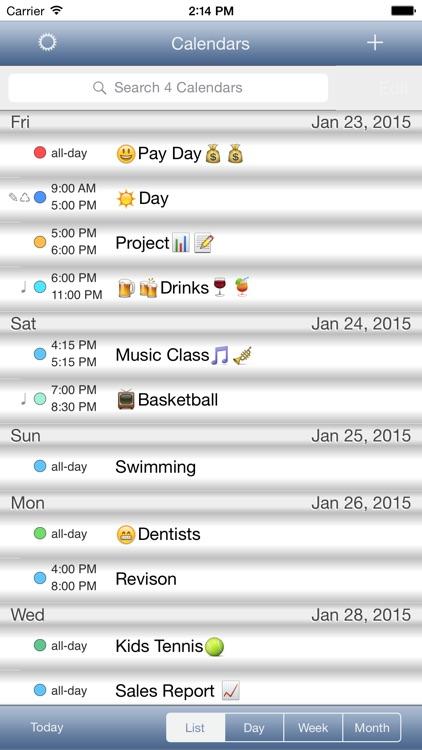CalendarSkin screenshot-3