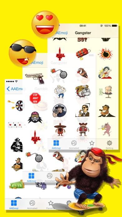 AA Emoji Keyboard - Animated Smiley Me Adult Icons-3