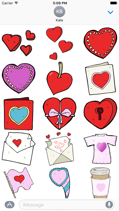 Hearts! The DoodleBomb Collection screenshot one