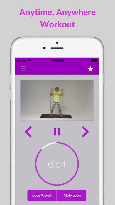 Resistance Band Workout Trainer Exercises Training screenshot four