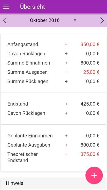 Online Haushaltsbuch Der Vzs By Endo7 Gmbh Srl